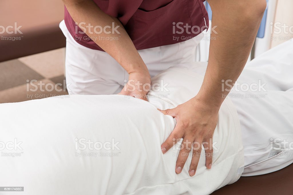 Body preparation stock photo