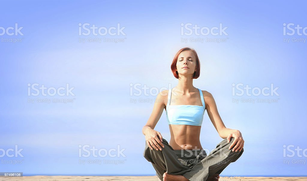 body relaxation royalty-free stock photo