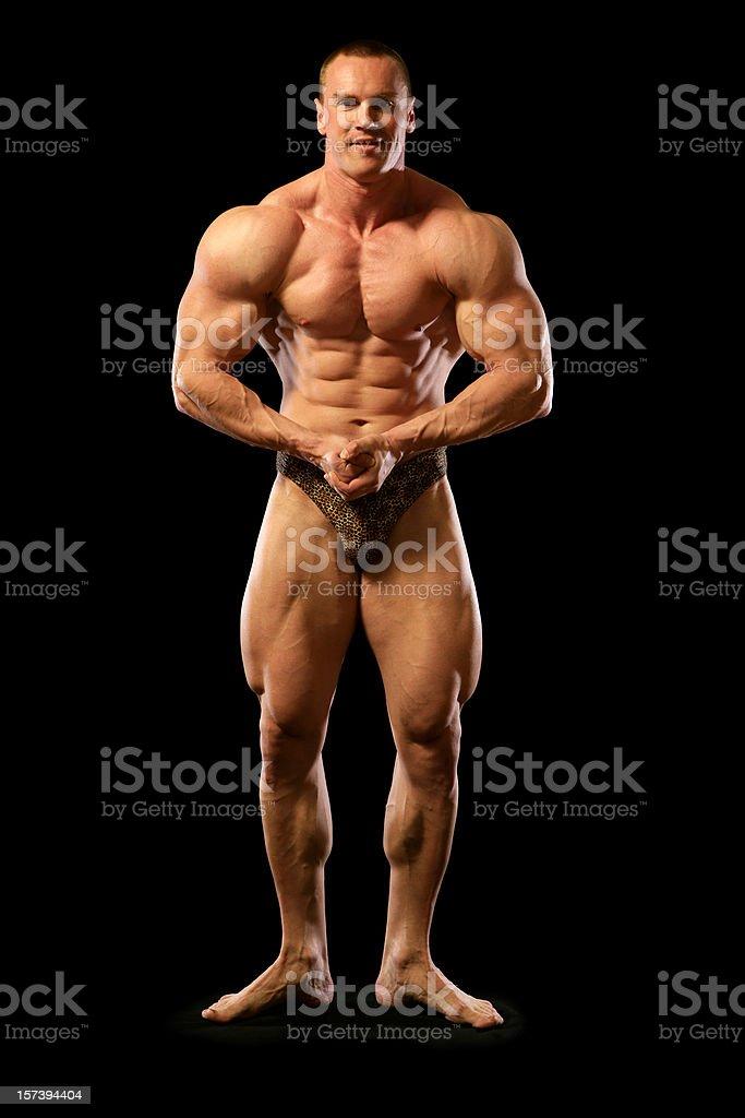 Bodybuilder (XXL) royalty-free stock photo