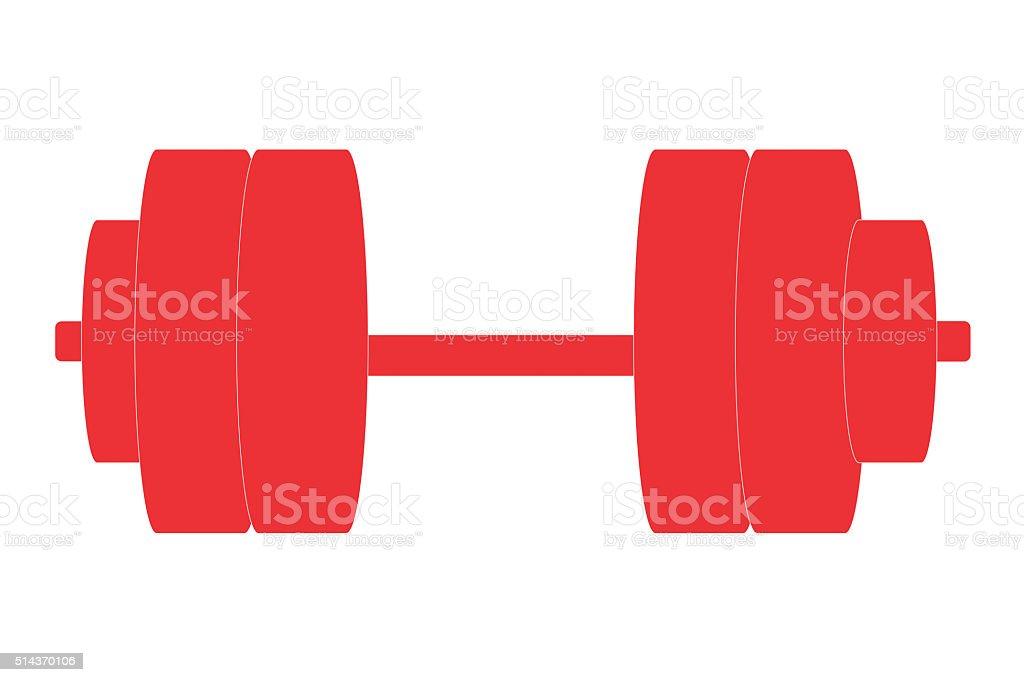 Bodybuilding logo concept stock photo