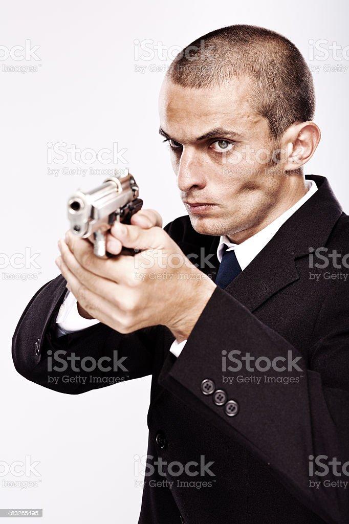 Bodyguard royalty-free stock photo