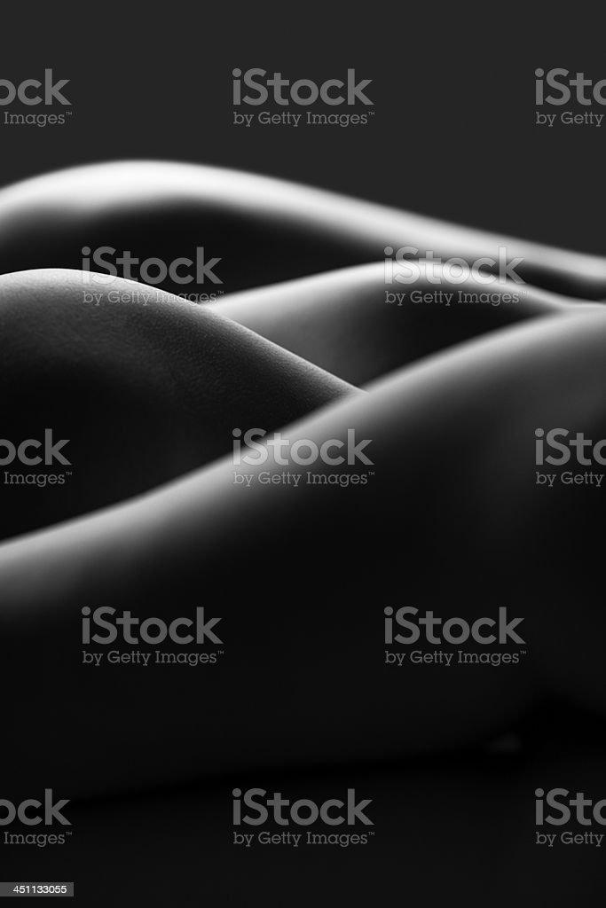 Bodyscape stock photo