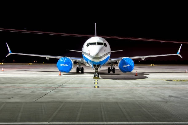 boeing 737 max grounded - stranded stock pictures, royalty-free photos & images