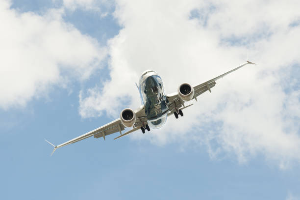 Boeing 737 MAX stock photo