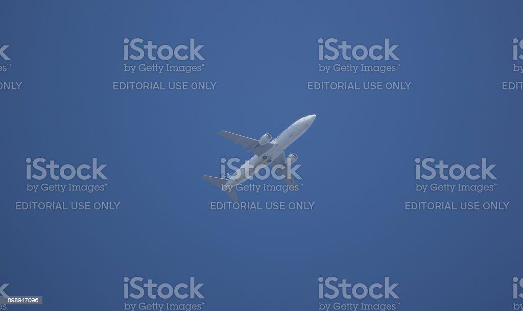 HS-NGA Boeing 737-400 of  NewGen Airways. stock photo