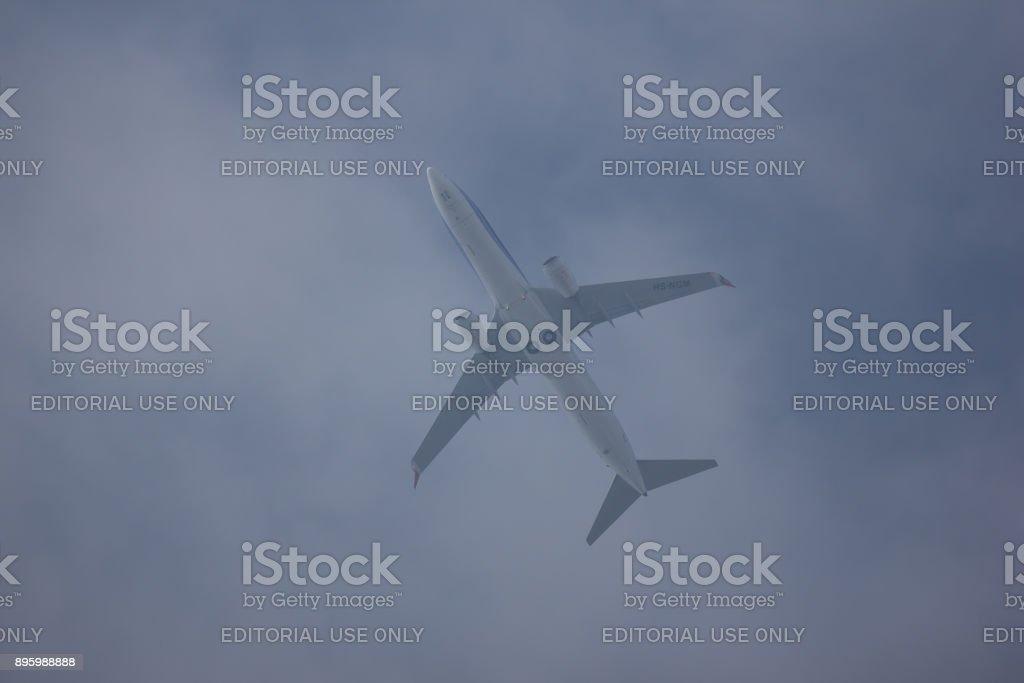HS-NGM Boeing 737-800 of  NewGen Airways. stock photo