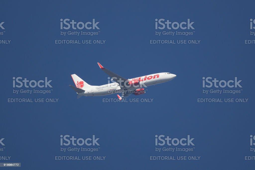 HS-LUW Boeing 737-800 of Thai lionair airline. stock photo