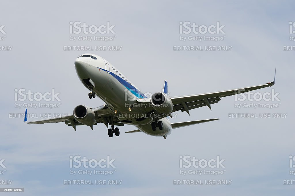 Boeing 737-800 stock photo
