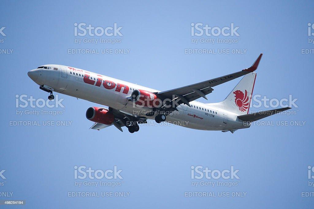 HS-LTM Boeing 737-900ER stock photo