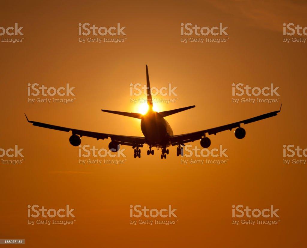 Boeing 747 Jumbo Jet royalty-free stock photo