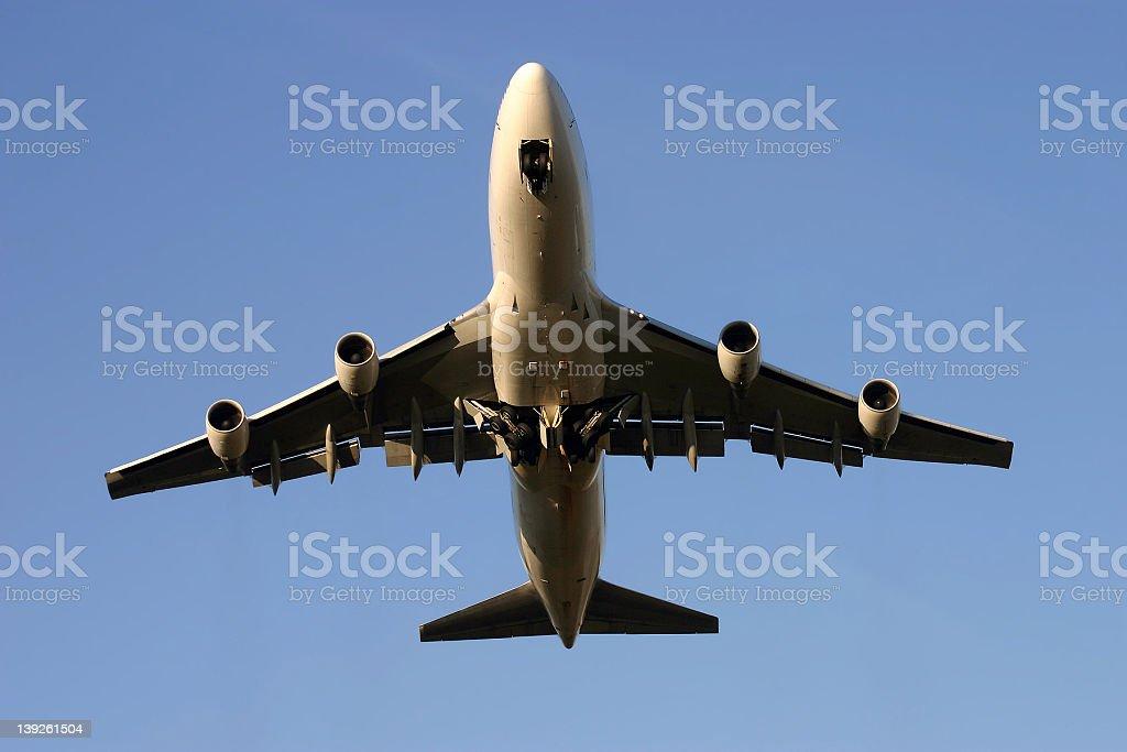Boeing 747... royalty-free stock photo
