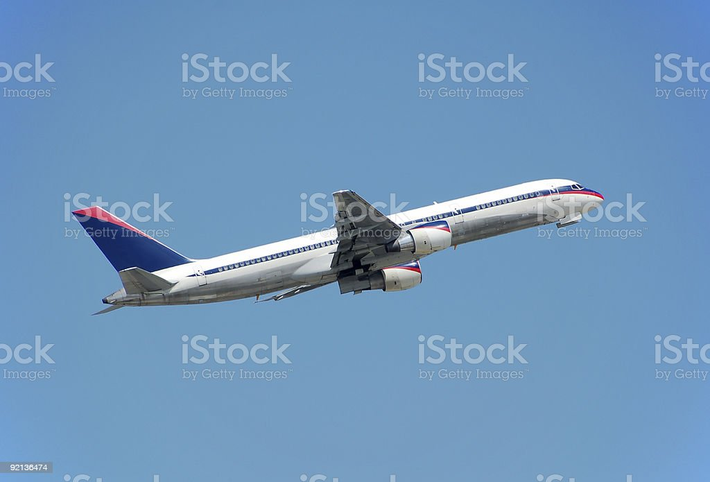 Boeing 757 passenger jet royalty-free stock photo