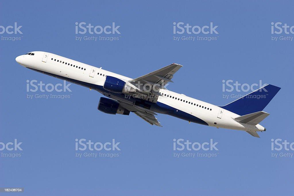 Boeing 757 stock photo
