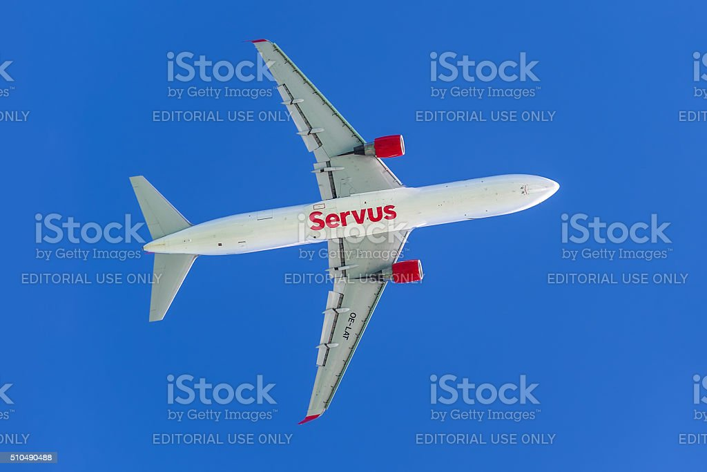 Boeing 767 stock photo