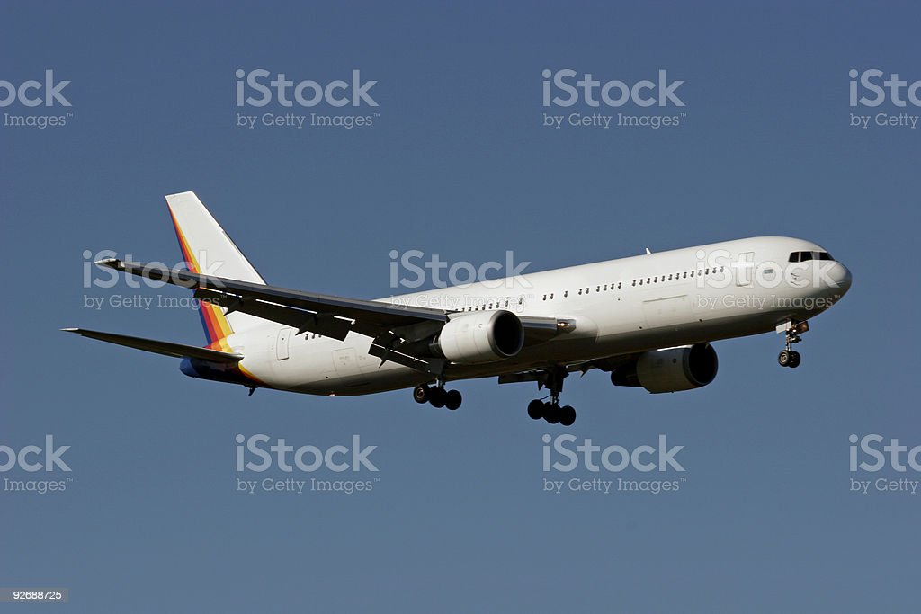 Boeing 767 royalty-free stock photo
