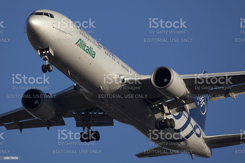 Boeing 767-300 AlItalia - foto stock