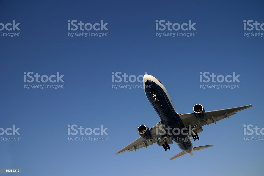 Boeing 777... royalty-free stock photo