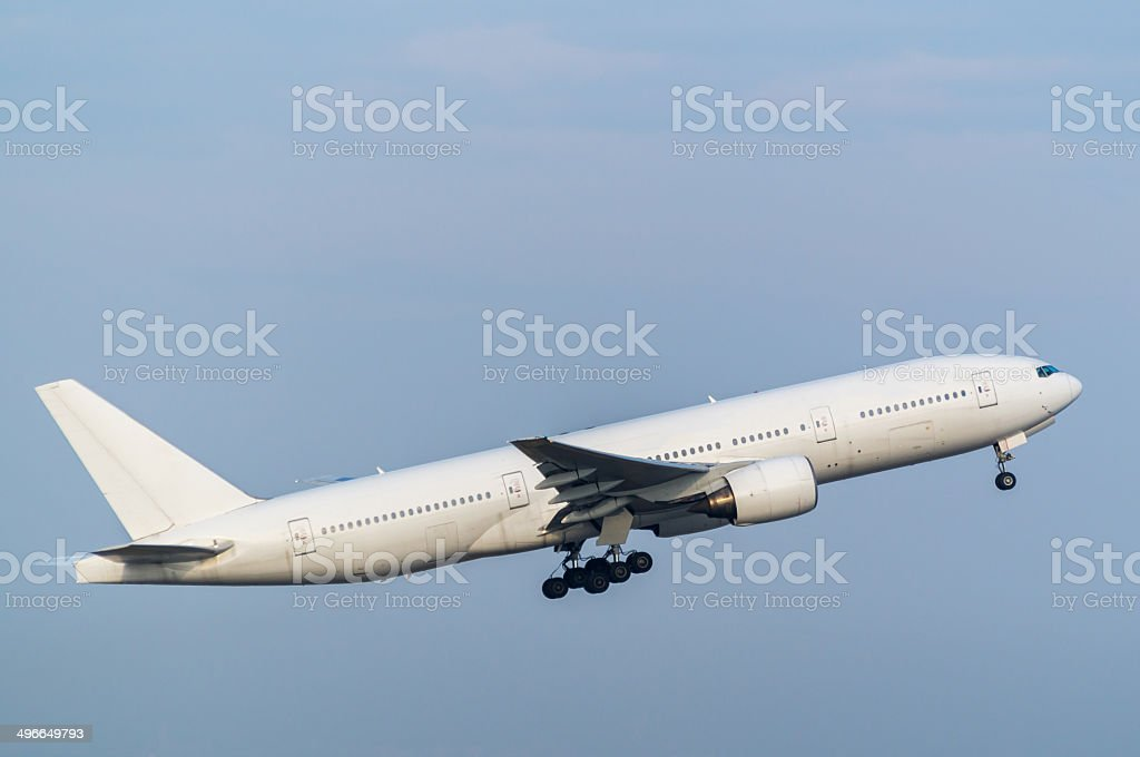 Boeing 777-200 stock photo