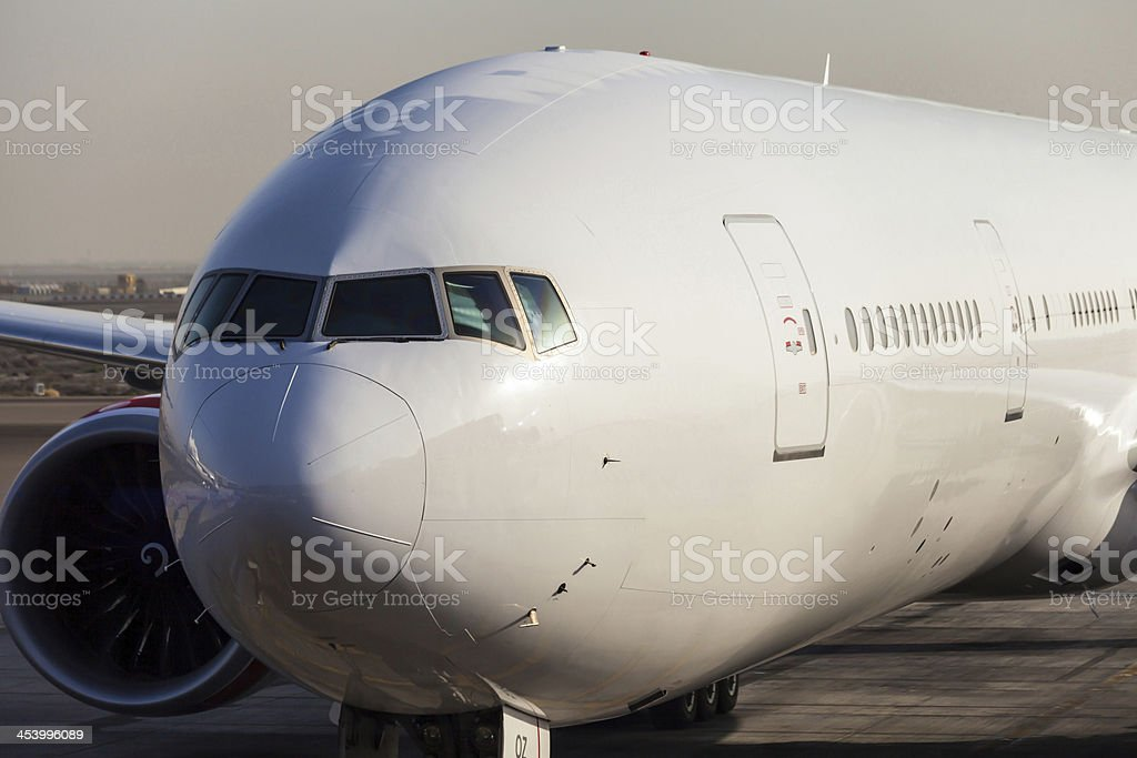Boeing 777-300er stock photo