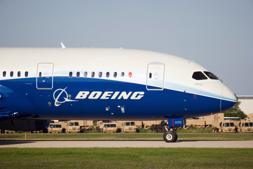 Boeing 787 Dreamliner Stock Photo - Download Image Now
