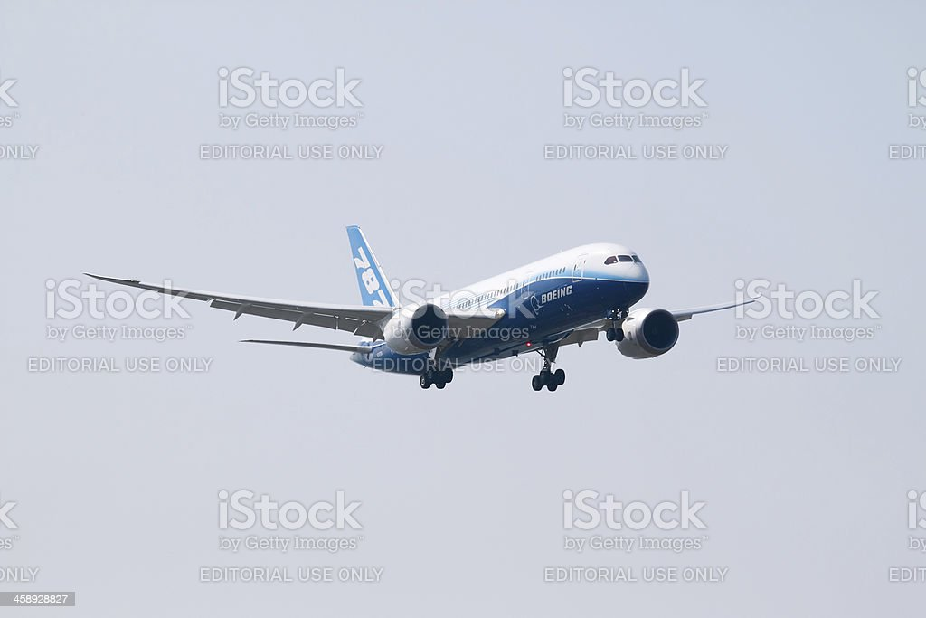 Boeing 787 - Royalty-free Air Vehicle Stock Photo