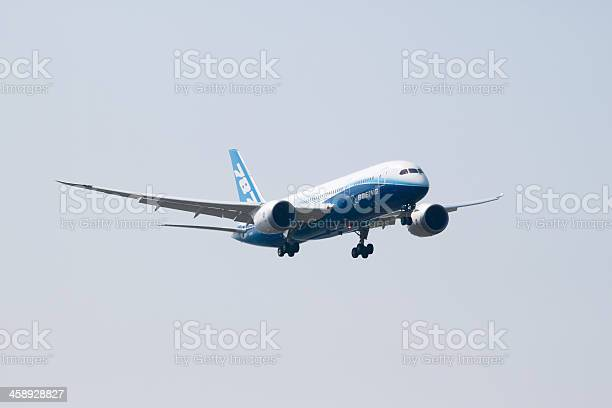 Boeing 787 Stock Photo - Download Image Now