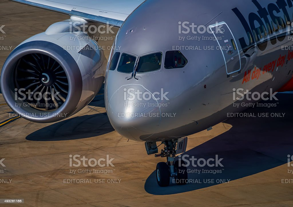 Boeing 787 stock photo
