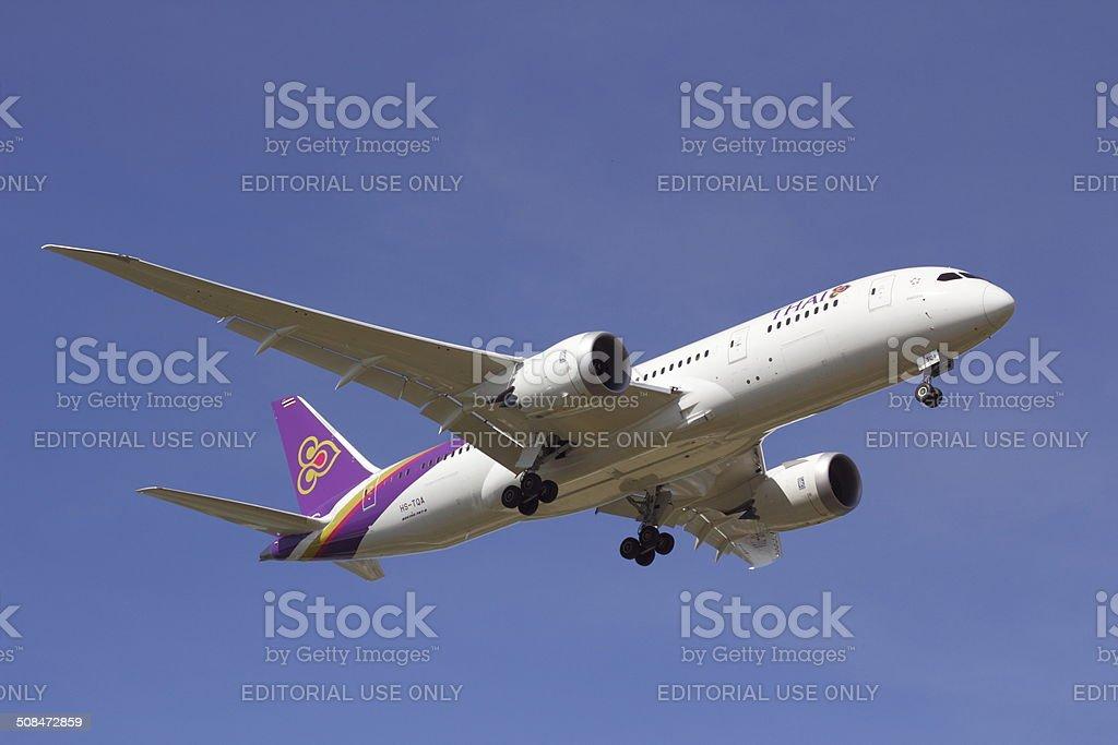 Boeing 787 stock photo