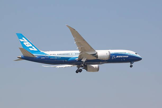 Boeing 787-8 stock photo
