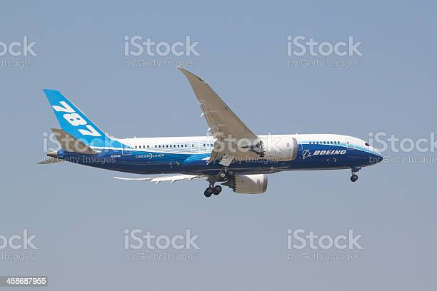Boeing 7878 Stock Photo - Download Image Now