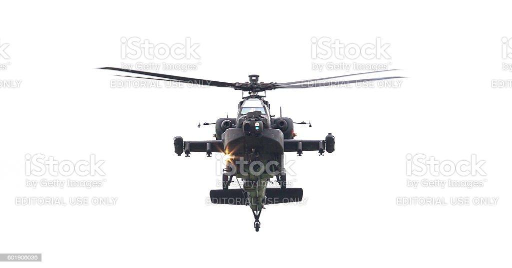 Boeing AH-64 Apache stock photo