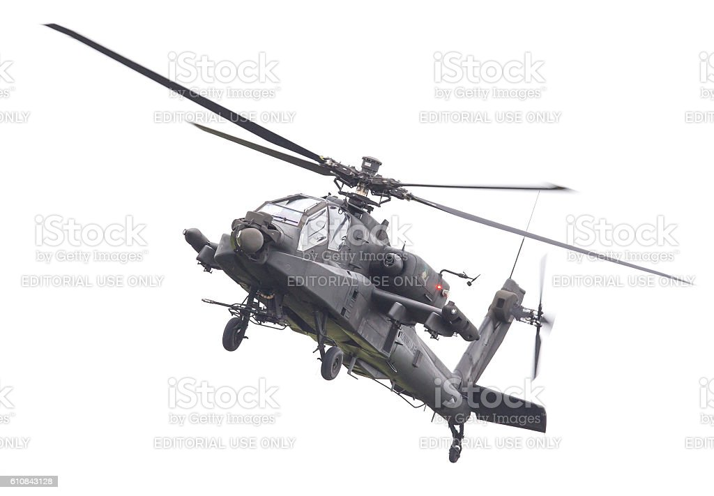Boeing AH-64 Apache stock photo