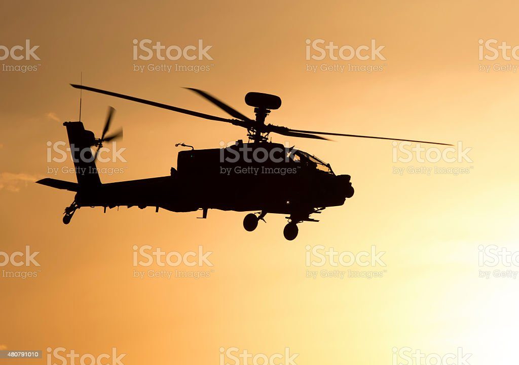 Boeing AH-64D Apache Longbow stock photo