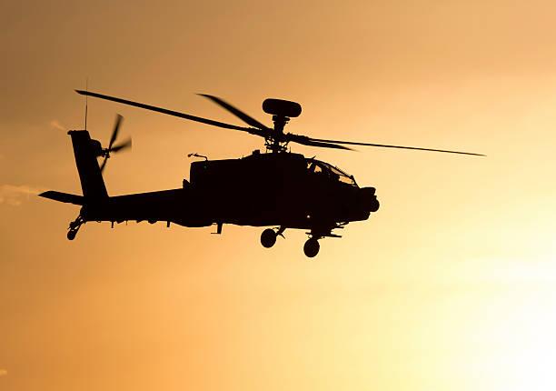 boeing ah - 64d apache arco da guerra - principe harry foto e immagini stock
