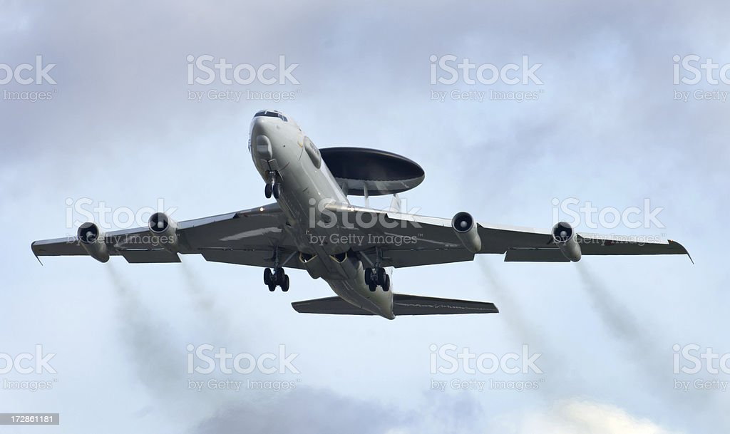 Boeing AWACS Sentry royalty-free stock photo