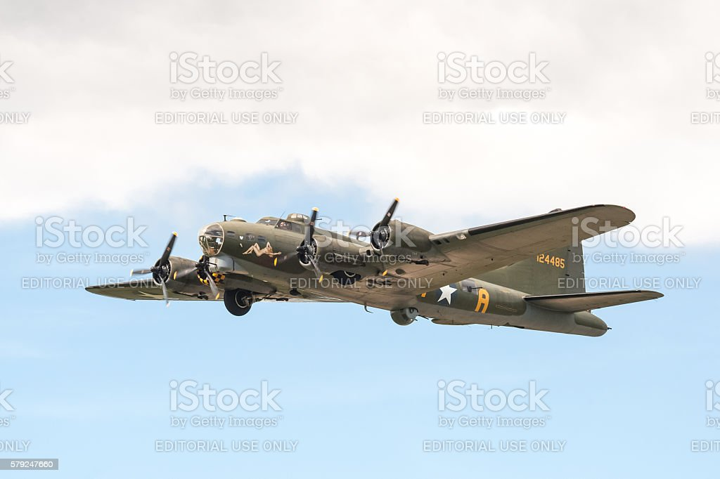 Boeing B-17 Flying Fortress - foto stock
