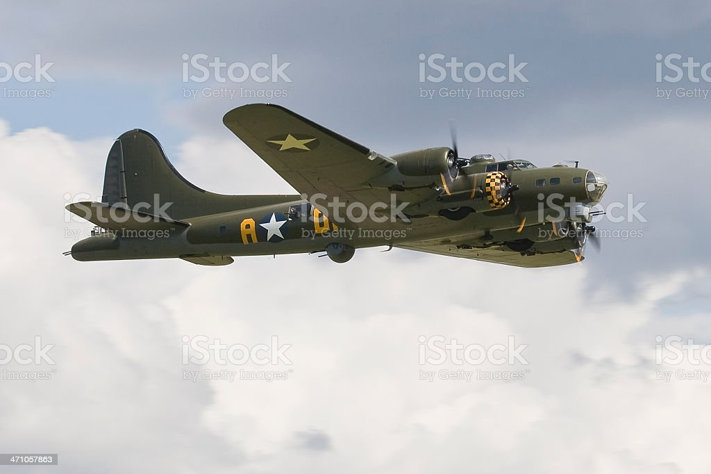 Boeing B 17 G Flying Fortress - foto stock