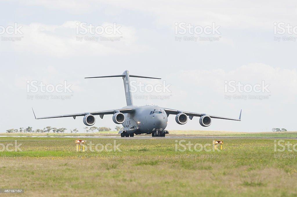 Boeing C17 Globemaster stock photo