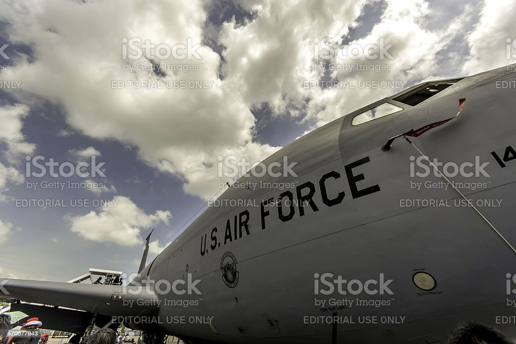 Boeing C-17A Globemaster III stock photo