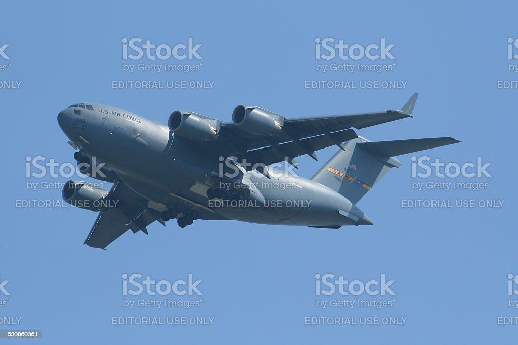 Boeing C-17A Globemaster III stock photo