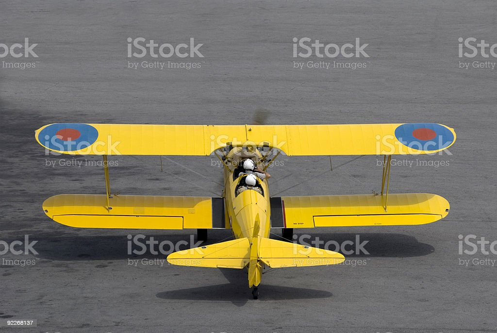 Boeing Stearman Trainer royalty-free stock photo