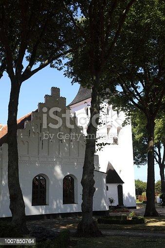 Bogense Kirke medieval Parish Church on the Island of Funen.