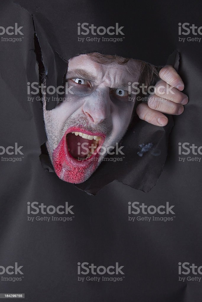 Bogeyman Coming To Get You stock photo