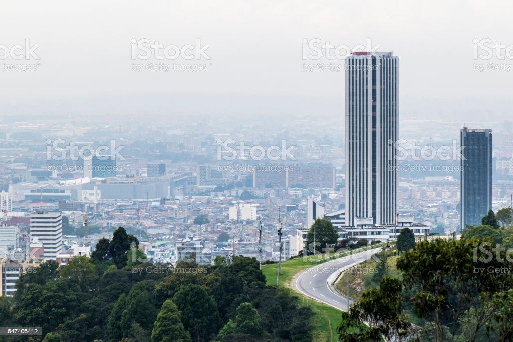 Bogota building stock photo