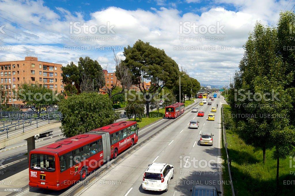 Bogota, Kolumbien – Autopista Norte – Foto