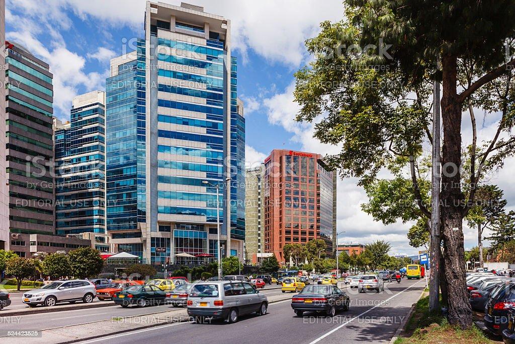 Bogota, Colombia - Avenida Septima and Torres Unidas