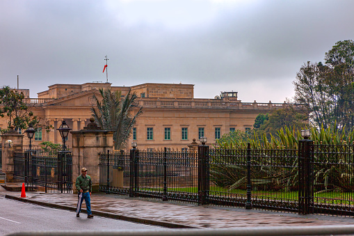Bogota, Colombia - Casa de Nariño, The Presidential Palace. It Is The Official Residence And Executive Office Of The Country's President.