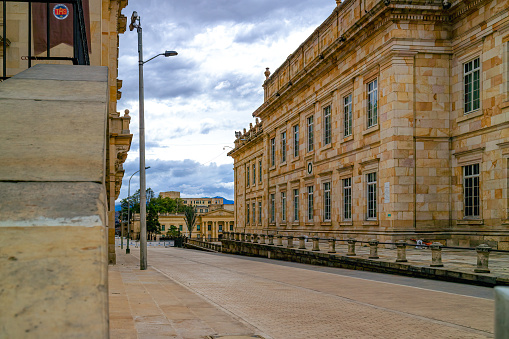Bogota, Colombia - Casa de Nariño, The Presidential Palace. It Is The Official Residence And Office Of The Country's President.