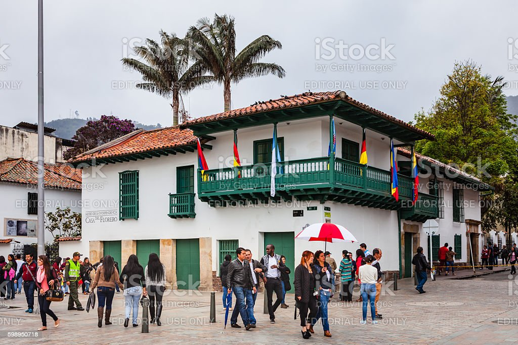 Bogota, Colombia - Casa del Florero, venue of independence movement - foto de stock