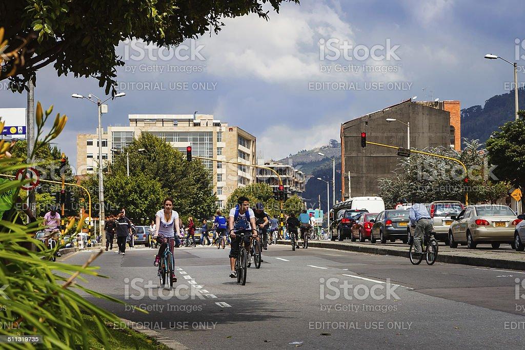 Bogota, Kolumbien – Ciclovia – Foto